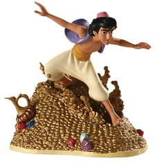 Limited-Edition WDCC ''Racing to the Rescue'' Aladdin Figurine | Figurines & Keepsakes | Disney Store