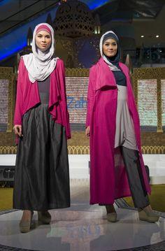 Indonesia fashion runway - hijab