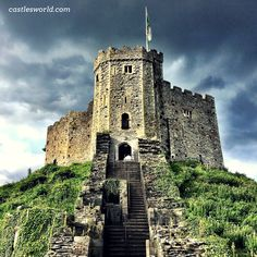 "Cardiff Castle, Wales Often called ""Cardiff's historic heart"", it was originally a motte and bailey castle built in the late 11th century by Norman invaders on top of a 3rd-century Roman fort. It is one of the city's major tourist attractions"
