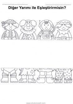 35 En Iyi Bütün Yarım Kavramı Görüntüsü Day Care Preschool Ve