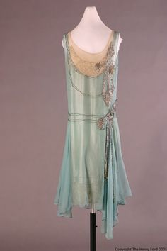 Peggy Hoyt dress ca. 1928 via The Henry Ford Costume Collection