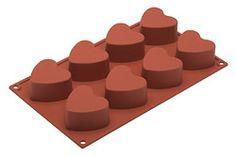 Gebruik de siliconen bakvorm van Silikomart voor de bereiding van bijvoorbeeld cupcakes, muffins en vieruurtjes. Dankzij het silicone is de vorm flexibel en lost de inhoud gemakkelijk.