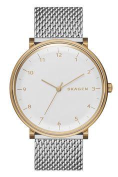 Skagen watch, $175, skagen.com. - HarpersBAZAAR.com