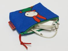 Little Pouch - Coin Purse - Charger case - zippered pouch - pinned by pin4etsy.com