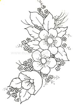 Floral flower drawing black and white illustration pinterest patrons perga mightylinksfo