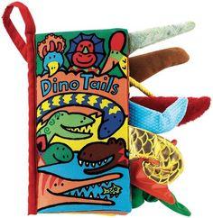 Dino Tails (Cloth Book)
