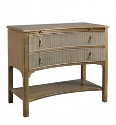 MH10572 Concave Side Table for Mr. and Mrs. Howard for Sherrill Furniture