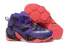 Nike Lebron 13 Custom 25K Grapes Authentic abfa834dc