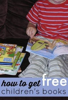 Useful tips! 5 sources for free children's books.