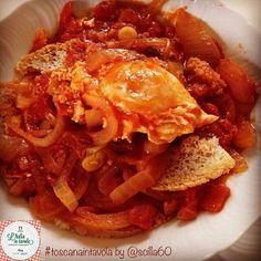 Ecco la ricetta dell'acquacotta, piatto tipico della #maremma #toscana, un tempo l'unico pranzo del contadino #italiaintavola #toscanaintavola
