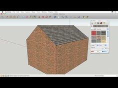 Google Sketchup - use this free software to design your 3D project.  Here's how to get started.