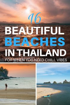 Here is a list of the best beaches in Thailand that you definitely must visit #thailand #beaches #thailandbeaches #beachesinthailand #tropicalbeaches