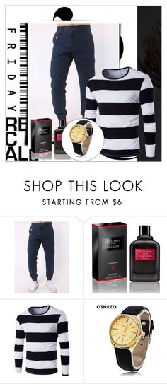 """""""Rosegal 89/ II"""" by emina-095 ❤ liked on Polyvore featuring Givenchy, men's fashion, menswear, polyvoreeditorial and rosegal"""