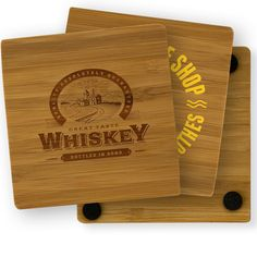 This very attractive and durable coaster is made from bamboo an earth-friendly and renewable resource. With a striped, wood grain appearance, this favors fantastic for promoting your brand at any conference or event. Event Marketing, Custom Coasters, Recycled Materials, Bamboo Cutting Board, Wood Grain, Laser Engraving, Screen Printing, Promotion, Digital Prints