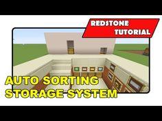 "Auto Sorting Storage System [Simple] ""Redstone Tutorial"" (Minecraft Xbox/PlayStation/PS Vita) - YouTube"