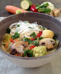 ZabosBabos: Thai kókusztejes zöldségleves Potato Salad, Chili, Paleo, Lime, Potatoes, Chicken, Meat, Ethnic Recipes, Food