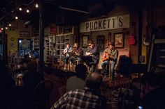This songwriters round at Puckett's in Historic Downtown Franklin with Gary Harrison, Carson Chamberlain, Michael White and Rick Huckaby was one of those nights where it was easy to see how lucky we are to be in the midst of Music City– surrounded by the best song writers in the world!
