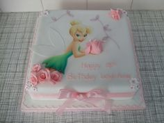 Tinkerbell party theme: Tinkerbell Cake