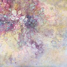 Emma Lindström - Sinyingula III. Mixed media on canvas. 100x100 cm
