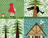 BEST site for paper pieced fairy tale patterns!