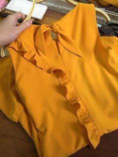 37 ideas dress casual unique for 2019 Dresses For Teens, Trendy Dresses, Simple Dresses, Nice Dresses, Casual Dresses, Fashion Dresses, Myanmar Dress Design, Myanmar Traditional Dress, Mom Dress