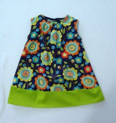 Teal Garden Baby Girl Dress  Toddler Dress  Baby by LoopsyBaby, $24.00