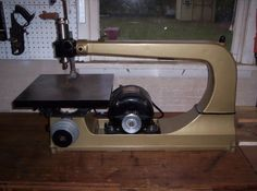 Why I like Vintage Tools #8: The Finished Scroll Saw - by brianinpa @ LumberJocks.com ~ woodworking community