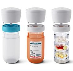 iRemember - It is the world's first smart pill organizer. It is capable of sending out notifications to your smartphone whenever you or your family member forget to take their pills. It is simple and yet smart, as it informs you (or the patient involved) of the last dose of pills taken, as well as buzzing you with a reminder of when to consume the next one. All notifications will be sent straight to your mobile device or the cap of the iRemember itself, how neat is that?