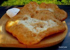 Lángos / Az igazi piacos Pizza, Ethnic Recipes, Food, Essen, Meals, Yemek, Eten