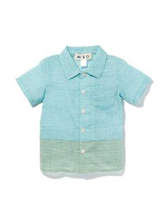 Two Tone Shirt by Mi & O