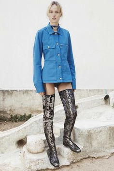 MM6 Maison Martin Margiela Resort 2015-16. Click on the image to see the entire show.