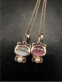 YANA  Jewelry Fashion  Gold Plated Cat Statement Necklace For Woman 2015 New necklaces & pendants Sale N12♦️ B E S T Online Marketplace - SaleVenue ♦️ http://www.salevenue.co.uk/products/yana-jewelry-fashion-gold-plated-cat-statement-necklace-for-woman-2015-new-necklaces-pendants-sale-n12/ US $0.36