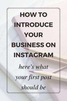 Likes No Instagram, Tips Instagram, Instagram Marketing Tips, Instagram Business Ideas, Business Launch, Small Business Marketing, Online Business, Business Planning, Business Tips