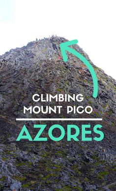 This is a full hiking guide to climb Mount Pico in Azores. All you need to know for a safe hike up this unique mountain in the middle of the Atlantic!   #Azores #Pico #Portugal #VisitPortugal #VisitAzores @visitportugal
