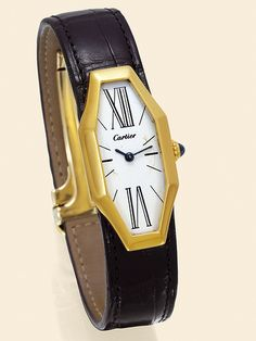 Cartier London Gold Wristwatch 1970