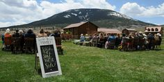 Waunita Hot Springs Ranch is where wedding dreams come true. Entertain your guests in the shadow of Tomichi Dome located 26 miles from Gunnison Colorado in the Rocky Mountains.
