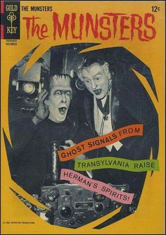 The Munsters comic book. I have one of these that was my dad's from when he was s boy. He got me into Munsters when I was little The Munsters, Munsters Tv Show, Munsters House, Vintage Comic Books, Vintage Tv, Vintage Comics, Vintage Horror, 1313 Mockingbird Lane, Herman Munster