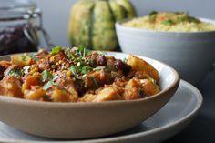 Spicy Squash & Kidney Bean Stew