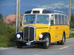 saurer bus poste svizzere - Cerca con Google