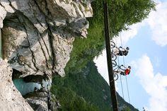 www.socarafting.si - MTB Soča river, Bovec, Slovenia #mtb #cycle