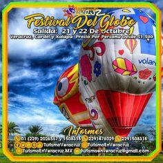 El #FestivalDelGlobo en #Tequesquitengo nos espera este 21 y 22 de octubre saliendo de #Veracruz #Cardel y #Xalapa ¡ Reserva Tu Lugar YA !  Más información en: Tels: 01 (229) 202 65 57 y 150 83 16  WhatsApp: 2291476029 y 2291508316 Email / Hangouts: turismoenveracruz@gmail.com http://www.turismoenveracruz.mx/2017/08/excursion-al-festival-del-globo-en-tequesquitengo-este-21-de-octubre/
