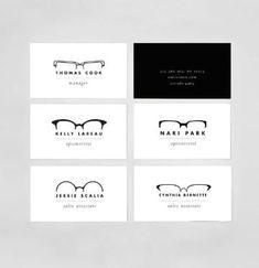 tarjetas de presentacion medicos oftalmologo