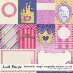 Disney inspired digital scrapbooking by Studio Flergs & Amber Shaw #flergs #studioflergs