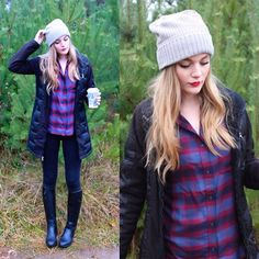 Get this look: http://lb.nu/look/7957566  More looks by Sydney Hoffman: http://lb.nu/user/159491-Sydney-H  Items in this look:  Gentle Fawn   #casual #street #gentlefawn #christmastree #plaidshirt #plaid