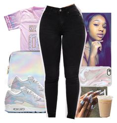 """""""Untitled #389"""" by ajdagoddess ❤ liked on Polyvore featuring Forever 21, NIKE and Casetify"""