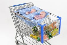 Why didn't I know about these six months ago?! Shopping Cart Hammock™