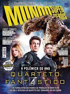 """.: """"Mundo dos Super-Heróis"""" explica fracasso de """"Quarteto Fantástico"""" no cinema"""