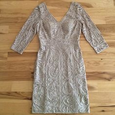 I just discovered this while shopping on Poshmark: NEW Sue Wong embroidered lace illusion dress   NWT. Check it out!  Size: 8