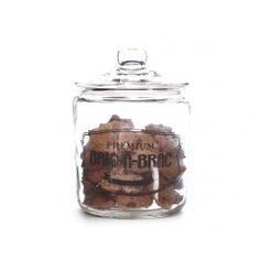 Jarre � biscuits en verre avec couvercle Bric � Brac, 26 cm