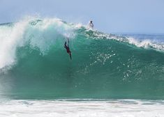 Catch Me. Body Surfing At The Wedge